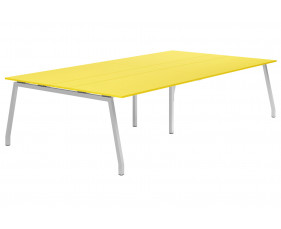 Campos A-Frame 10-12 Person Meeting Table (Yellow)