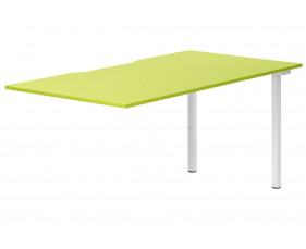 Campos Single Add-On Bench Desk (Green)