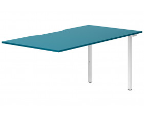 Campos Single Add-On Bench Desk (Light Blue)