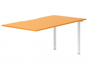 Campos Single Add-On Bench Desk (Orange)