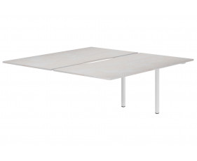 Lasso Back To Back Add On Bench Desk (Concrete)