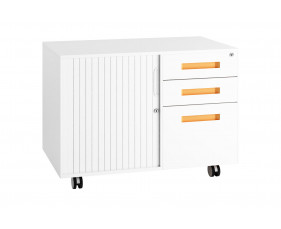 Campos Steel Storage Caddy (Orange)