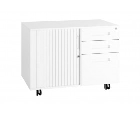 Campos Steel Storage Caddy (White)