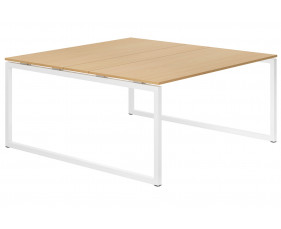 Lozano Hooped Leg 6-8 Person Meeting Table (Beech)