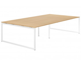 Lozano Hooped Leg 10-12 Person Meeting Table (Beech)