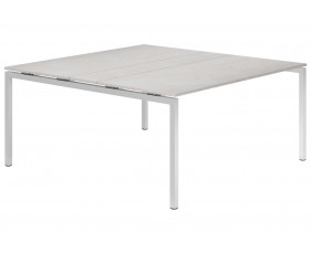 Lasso H-Leg 6-8 Person Meeting Table (Concrete)