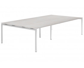 Lasso H-Leg 10-12 Person Meeting Table (Concrete)