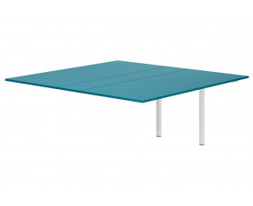 Campos Meeting Table Add On Unit (Light Blue)