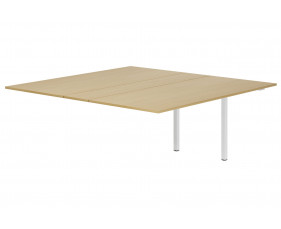 Lozano Meeting Table Add On Unit (Natural Oak)