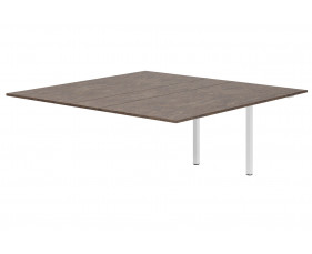 Lasso Meeting Table Add On Unit (Pitted Steel)