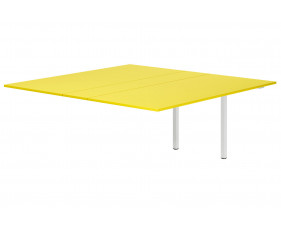 Campos Meeting Table Add On Unit (Yellow)