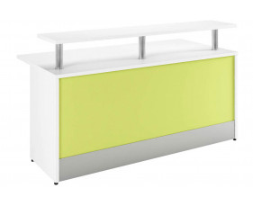 Campos Reception Desk (Green)