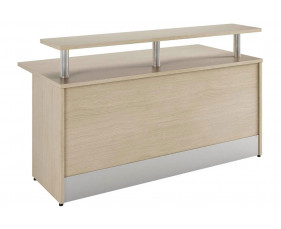 Lozano Reception Desk (Natural Oak)