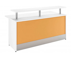Solero Reception Desk (Orange)