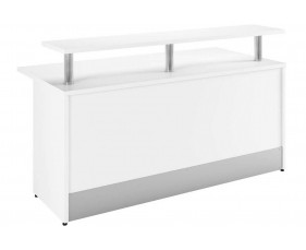 Campos Reception Desk (White)