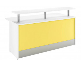 Campos Reception Desk (Yellow)