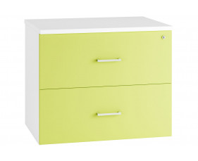 Next-Day Solero Side Filing Cabinet (Green)
