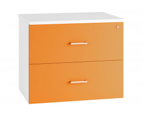 Campos Side Filing Cabinet (Orange)