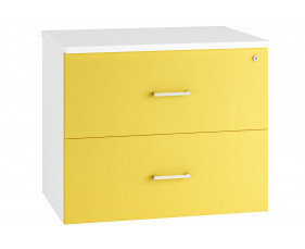 Solero Side Filing Cabinet (Yellow)