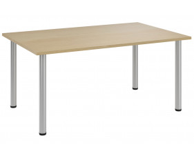 Lozano Rectangular Meeting Table (Natural Oak)