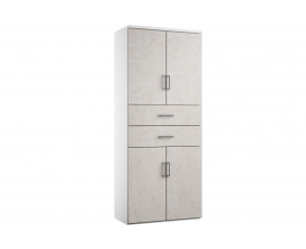 Delgado Cupboard Combination 6 (Concrete)