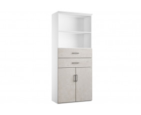 Delgado Cupboard Combination 3 (Concrete)