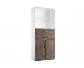Delgado Cupboard Combination 3 (Pitted Steel)