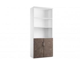 Delgado Cupboard Combination 2 (Pitted Steel)