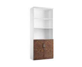 Delgado Cupboard Combination 2 (Rusted Steel)