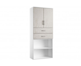 Delgado Cupboard Combination 4 (Concrete)