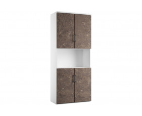 Delgado Cupboard Combination 5 (Pitted Steel)