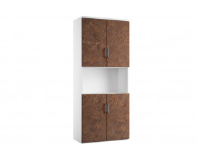 Delgado Cupboard Combination 5 (Rusted Steel)