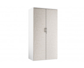 Delgado 4 Shelf Cupboard (Concrete)