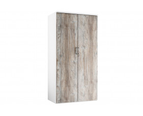 Delgado 4 Shelf Cupboard (Platinum Oak)