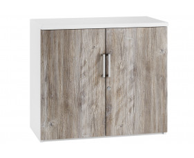 Delgado 1 Shelf Cupboard (Platinum Oak)