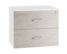 Lasso Side Filing Cabinet (Concrete)