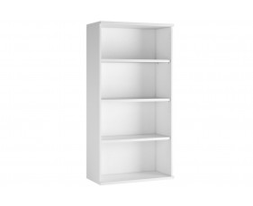 Astrada 3 Shelf Bookcase (White)