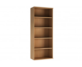 Astrada 4 Shelf Bookcase (Beech)