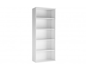 Astrada 4 Shelf Bookcase (White)