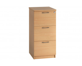 Astrada 3 Drawer Filing Cabinet (Beech)
