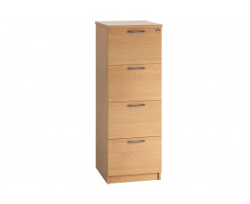 Astrada 4 Drawer Filing Cabinet (Beech)