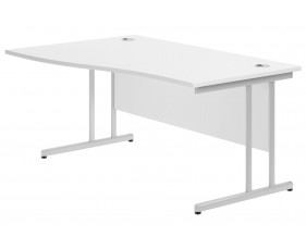 Solero C-leg left hand wave desk