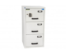 Burton Fire Resistant 3 Drawer Filing Cabinet