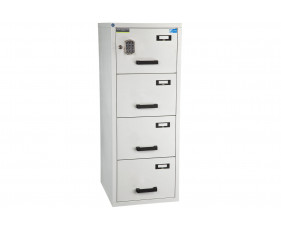 Burton Fire Resistant 4 Drawer Filing Cabinet