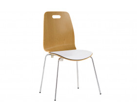 Pack of 4 Clark Side Chairs With Upholstered Seat
