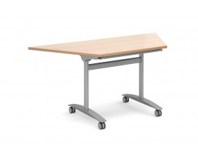 Next-Day Carousel Trapezoidal Flip Top Meeting Tables