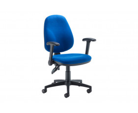 Notion High Back Operator Chair With Folding Arms