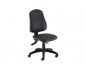 Orchid Ergonomic PU Operator Chair With Lumbar Pump