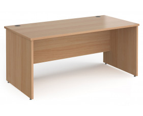 Value Line Classic+ Rectangular Panel End Desk
