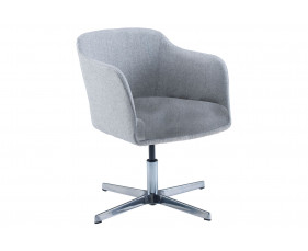Ormond Chair With Chrome Height Adjustable Base